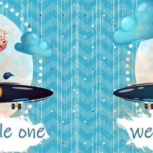 Welkom Kleinding (seuntjie) / Welcome Little One (boy)